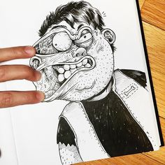 AlexSolis inkteraction | #art #drawing #illustration