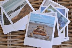 DIY: Print any photo as a Polaroid using normal photo processing service - free template | Decorator's Notebook
