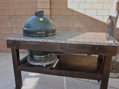 AlbuKirky BBQ & Other Stuff: Big Green Egg Table