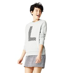 INITIAL CREWNECK SWEATSHIRT - Kate Spade Saturday