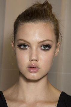Lindsey Wixson backstage at Atelier Versace, Fall 2013. #hautecouture ~