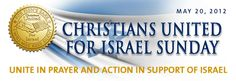 Pray for the peace Israel! Christians United for Israel (CUFI) is the largest pro-Israel organization in the United States with over one million members and one of the leading Christian grassroots movements in the world.