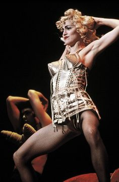 THIS IS ICONIC @MADONNA @JPGAULTIER !!!
