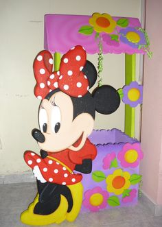 Light Goes Decorating: Mikey Minnie mouse