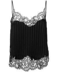 Givenchy | Striped Lace Trim Vest | Lyst