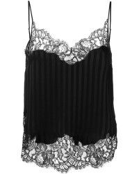 Givenchy | Striped Lace Trim Vest | Lyst