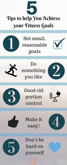 Achieve Your #Fitness Goals: 5 Tips That Will Help You #HealthTip