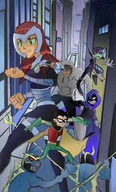 Teen Titans Go!/Sanya