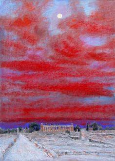 Natale Addamiano. Pestum di sera. 2005