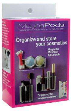 MagnaPods Cosmetic Organizer
