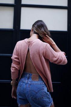 DIY Zip Back Knit | a pair & a spare | Bloglovin'