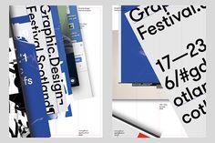 Warriors Studio & Freytag Anderson. Identidad para el Graphic Design Festival Scotland