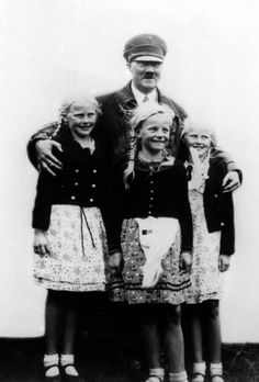 Adolf Hitler A Solid Reminder That The Many Faces Of Evil Often Are Seen Posing With Innocent Children
