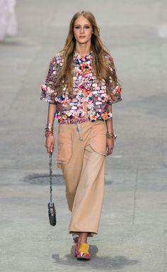 Chanel - PFW Spring/Summer 2015 - www.so-sophisticated.com