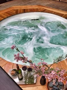 35 Best Onsen-Style Hot Tubs images in 2019 | SPA Treatments, SPA, Tub