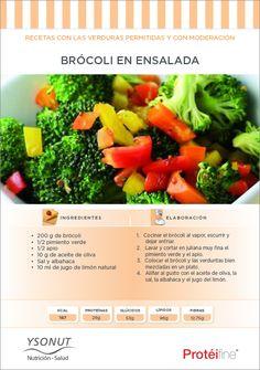 Vegetales permitidos en la dieta pronokal