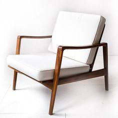 Located using retrostart.com > Lounge Chair by Arne Wahl Iversen for Komfort
