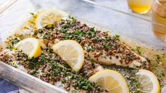If you're looking for a simple recipe that really preserves the delicate flavor of sea bass, then I highly recommend you try this one. White Sea Bass Recipe, Stripped Bass Recipe, Striped Bass Recipe Baked, Recipe For Sea Bass Fish, Chilean Sea Bass Recipe Baked, Baked Sea Bass, Baked Fish, Oven Baked