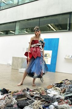 We merged the work of Central Saint Martins BA Fine Art and BA Fashion Class of Nomad Fashion, Fast Fashion, Fashion Shoot, Fashion Art, Editorial Fashion, Fashion Models, Fashion Design, Fabric Photography, Fashion Photography