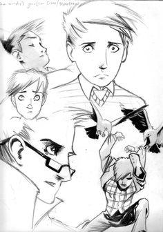 Sean Murphy's Jonathan Crane by pharetra on DeviantArt Dr Jonathan Crane, Scarecrow Batman, Character Art, Character Design, Batman Begins, Gotham Batman, Arkham Asylum, Batman Family, Partners In Crime