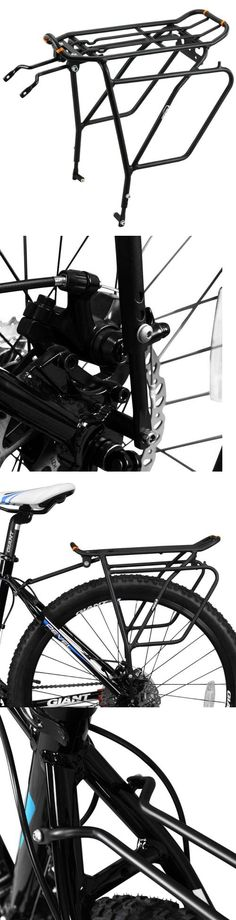 Carrier and Pannier Racks 177836: Ibera Pakrak Bicycle Touring Carrier Plus+ Rack Ib-Ra5 (With Disc Brake... -> BUY IT NOW ONLY: $37.34 on eBay!