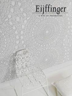 grappige combinatie behang-interieur  (Eijffinger Contempo) en andere inspirerende plaatjes op Welke.nl.