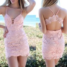 Prom Dresses Elegant, Sexy Lace Sleeveless V-Neck Dress, Mermaid prom dresses, two piece prom gowns, sequin prom dresses & you name it - our 2020 prom collection has everything you need! Tight Dresses, Casual Dresses, Girls Dresses, Dresses For Work, Sexy Dresses, Midi Dresses, Formal Dresses, Wedding Dresses, Pretty Dresses