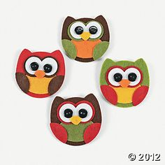 Owl Pin Craft Kit, Jewelry Crafts, Adult Crafts, Craft & Hobby Supplies - Oriental Trading