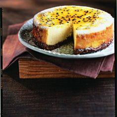 Cheese-cake aux fruits de la passion