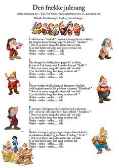 Den frække julesang Holidays And Events, Happy Holidays, Quiz, Wedding Cards, Christmas Time, Disneyland, Diy And Crafts, Funny Quotes, Jokes