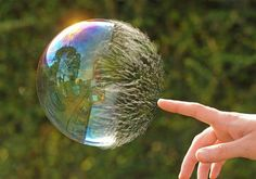 Photographer Richard Heeks spent weeks trying to capture the right moment when a bubble pops.