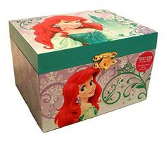 The little mermaid is more popular than ever which is why mermaid home décor is a hot trend in home decoration. You can appreciate Disney's Ariel mermaid by using it to decorate your kid's bedroom. This is a great girls room idea. Use Little mermaid wall clocks, little mermaid beach towels and Little Mermaid curtains to make a whimsical fantasy world for your daughter or granddaughter.    Disney Princess Ariel Little Mermaid Jewelry Music Box