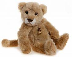 Charlie Bears Plush Savannah Lion Cub - 2015
