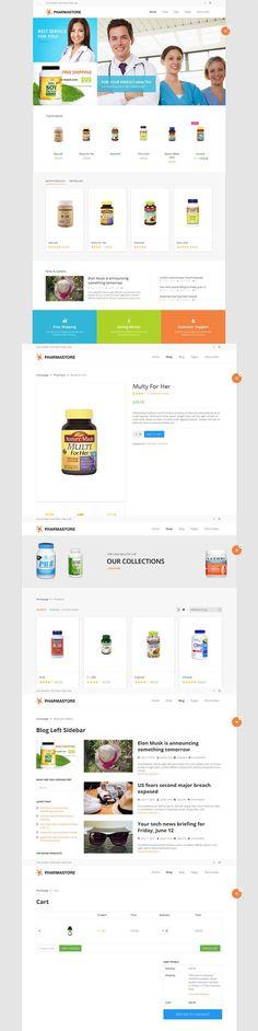 DW PharmaStore - WP eCommerce Theme. WordPress eCommerce Themes. $29.00