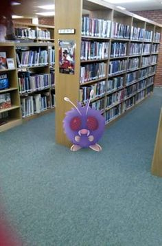 Where's Pikachu? How libraries are connecting with patrons over this wildly popular new virtual treasure hunt that uses geolocation—and why the game raises privacy concerns. Teen Programs, Library Programs, Library Card, Library Orientation, Library Inspiration, Library Ideas, Library Activities, School Librarian, Library Lessons