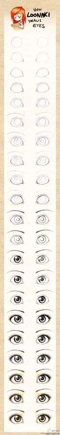 how to draw (eyes)