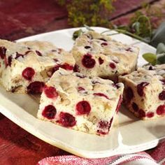 Give your sweet tooth a treat with these cranberry desserts and snacks from Ocean Spray®. Enjoy trail mix, cranberry snacks and desserts like cookies & pies. Cranberry Dessert, Cranberry Bars, Cranberry Recipes, Holiday Recipes, Christmas Recipes, Holiday Foods, Baking Recipes, Snack Recipes, Dessert Recipes