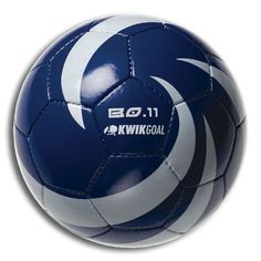 Kwik Goal BO 11 Soccer Ball, Royal/White, Size-5 by Kwik Goal. $9.53. Kwik Goal BO 11 soccer ball gloss thick PVC cover.  Non-leak butyl bladder. 4-Layer cotton lining. 32 Penal, hand-sewn. Weight 1-Pound each.