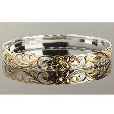 925 Sterling silver Hawaiian Jewelry - Hawaiian Heirloom Bangles ...