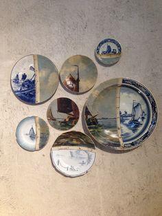 Gaaf design en een ongedwongen sfeer bij Ventura Living Room - Roomed | roomed.nl Decorative Plates, Arts And Crafts, Porcelain, Dining Room, Pottery, Fine Art, Space, House Styles, Inspiration