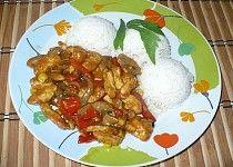 Kuřecí čína Grains, Curry, Food And Drink, Rice, Eggs, Meat, Cooking, Breakfast, Ethnic Recipes