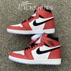 9d0b3b7a06e103 New Nike Air Jordan 1 AJ1 Rox Brown BV1576-001 Basketball Shoes ...