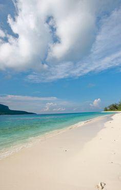 island of Jaco and Tutuala beach, Nino Konis Santana National Park, Timor-Leste   Martine Perret / UNMIT