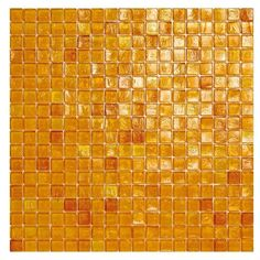 #Sicis #Waterglass Amber 03 1,5x1,5 cm | #Murano glass | on #bathroom39.com at 248 Euro/box | #mosaic #bathroom #kitchen