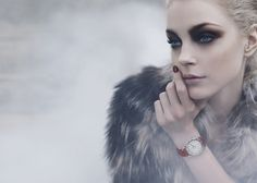 You are interested in Jessica Stam for Fendi? Fashion ads, pictures, prints and advertising with Jessica Stam for Fendi can be found here. Jessica Stam, John Galliano, Karl Lagerfeld, Fendi, Eye Makeup, Hair Makeup, Makeup Art, Makeup Ideas, Night Makeup