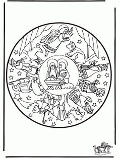 Nativity Story Coloring Pages Christmas The 16