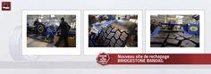 Nouveau site de rechapage BRIDGESTONE BANDAG L'un des ateliers de rechapage les plus modernes d'Europe