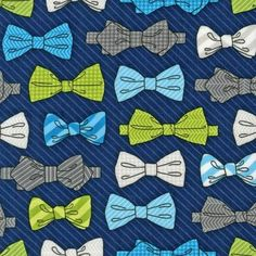 Robert Kaufman Fabrics: AHE-14423-9 NAVY by Andie Hanna from Fox and The Houndstooth