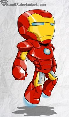Iron Man chibi by *shamserg on deviantART