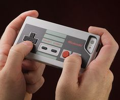 Nintendo NES Controller Case for iPhone / This Nintendo NES Controller Case for the iPhone from Performance Designed Products (PDP) is about as close to a perfect replica of the original NES controller as you will ever see. http://thegadgetflow.com/portfolio/nintendo-nes-controller-case-iphone/